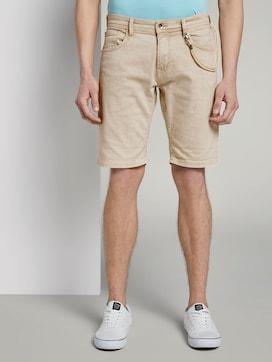 Basic jeans shorts with cord keyring  - 1 - TOM TAILOR Denim