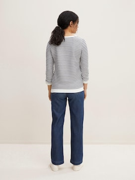 Gestreepte Jacquard Sweater - 2 - TOM TAILOR Denim