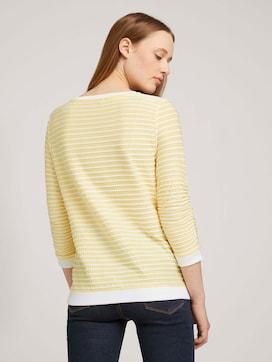 Gestreepte Jacquard Sweater - 2 - TOM TAILOR Denim