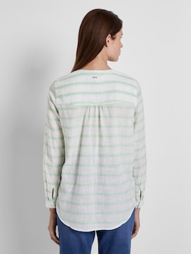 striped Henley blouse - 2 - TOM TAILOR Denim