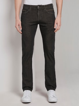 Troy Slim Tech Denim - 1 - TOM TAILOR