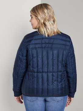 Lightweight quilted jacket with a stand-up collar - 2 - My True Me