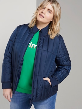 Lightweight quilted jacket with a stand-up collar - 5 - My True Me