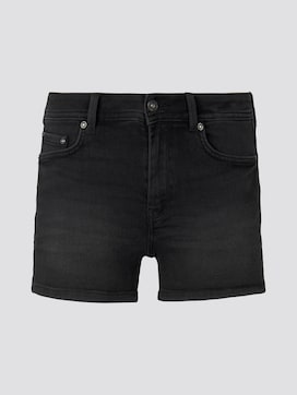 High-Waist Jeans-Shorts mit Push-Up-Effekt - 7 - TOM TAILOR Denim