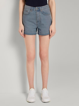 Mom Fit High-Waist Jeansshorts - 1 - TOM TAILOR Denim