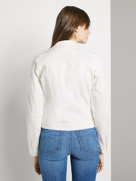 Denim jacket in white - 2 - TOM TAILOR Denim