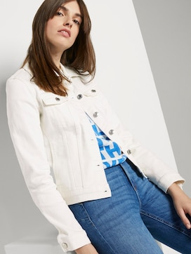 Denim jacket in white - 5 - TOM TAILOR Denim