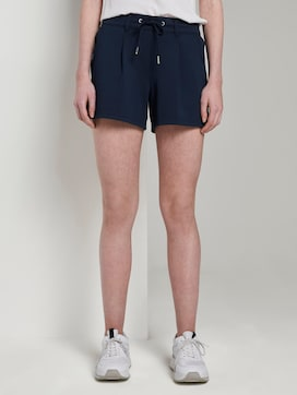 Ponte Shorts im Relaxed Fit - 1 - TOM TAILOR Denim