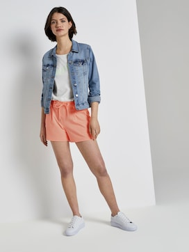Ponte shorts in a relaxed fit - 3 - TOM TAILOR Denim