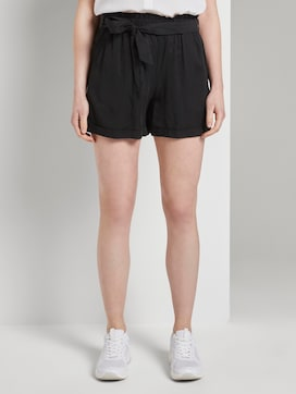Relaxed Shorts mit Bindeband - 1 - TOM TAILOR Denim