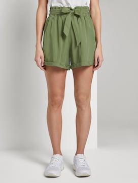 Relaxed Shorts met stropdas - 1 - TOM TAILOR Denim