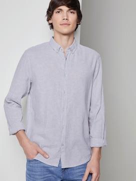 Overhemd van linnen - 5 - TOM TAILOR