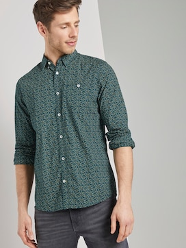 Patterned shirt - 5 - TOM TAILOR
