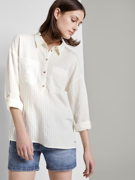Oversized tunic with pockets - 5 - TOM TAILOR Denim