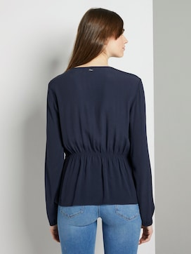 Bluse mit Taillen-Detail - 2 - TOM TAILOR Denim