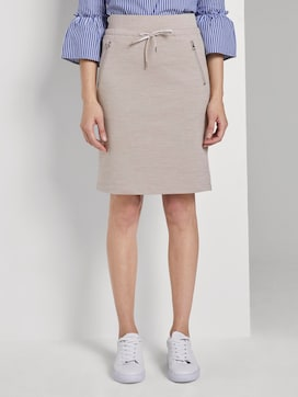 Sporty mini skirt - 1 - TOM TAILOR