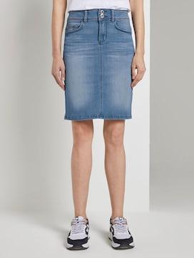 Mini denim skirt - 1 - TOM TAILOR