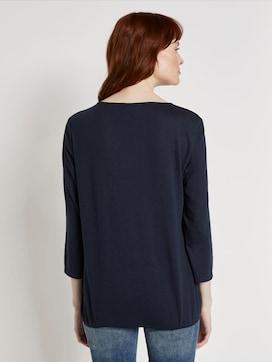 Overhemd met elastische tailleband - 2 - TOM TAILOR