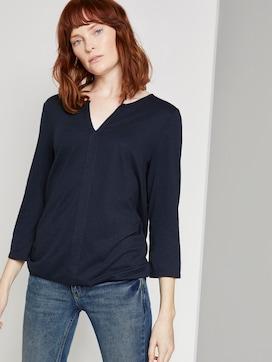 Overhemd met elastische tailleband - 5 - TOM TAILOR