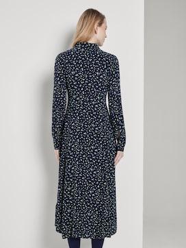 Midi Hemdkleid mit floralem Muster - 2 - TOM TAILOR