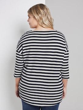 Los overhemd met gestreept patroon - 2 - My True Me