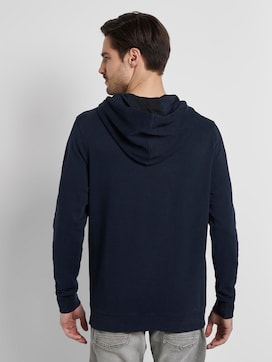 Hoodie in Washed-Look - 2 - TOM TAILOR