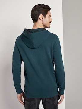 Wasshed-Look Hoodie - 2 - TOM TAILOR