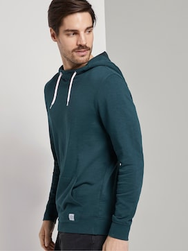 Wasshed-Look Hoodie - 5 - TOM TAILOR