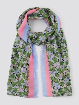 Sjaal met bloemenpatroon - 7 - TOM TAILOR