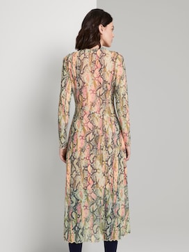 Dress with a snake print - 2 - TOM TAILOR Denim