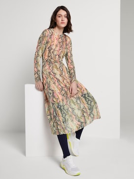Dress with a snake print - 5 - TOM TAILOR Denim