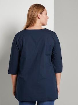 Loose blouse met geplooid - 2 - My True Me