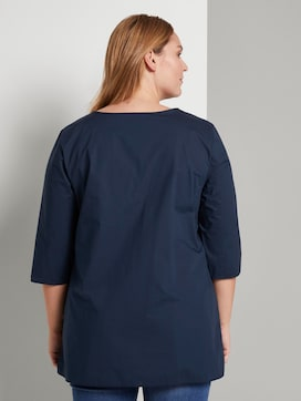 Loose blouse met geplooid - 2 - Tom Tailor E-Shop Kollektion