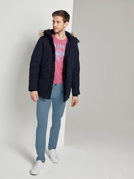 Chino-broek in Tech Style - 3 - TOM TAILOR