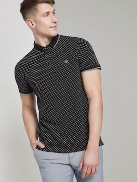 Poloshirt mit Alloverprint - 5 - TOM TAILOR Denim