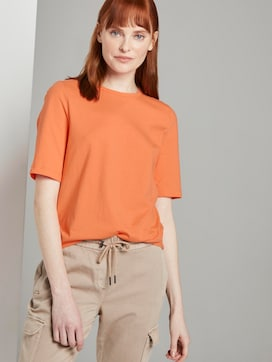Simple T-shirt - 5 - TOM TAILOR