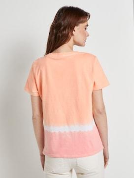 Nena & Larissa: T-Shirt mit Batik-Look - 2 - TOM TAILOR