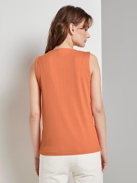 Nena & Larissa: Top with a stand-up collar - 2 - TOM TAILOR