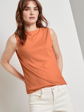 Nena & Larissa: Top with a stand-up collar - 5 - TOM TAILOR