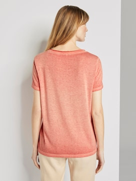 T-shirt with a letter print - 2 - TOM TAILOR