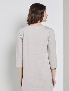 Mini dress with a submarine neckline - 2 - TOM TAILOR