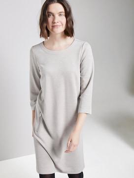 Mini dress with a submarine neckline - 5 - TOM TAILOR