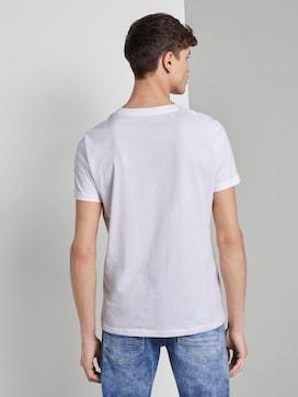 Strukturiertes T-Shirt mit Foto-Print - 2 - TOM TAILOR Denim