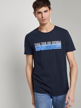 T-Shirt mit Batik-Print - 5 - TOM TAILOR Denim
