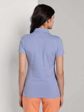 Basic polo shirt met borstzak - 2 - TOM TAILOR