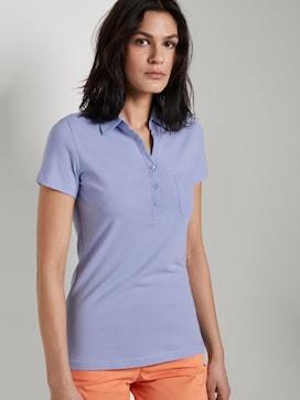 Basic polo shirt met borstzak - 5 - TOM TAILOR