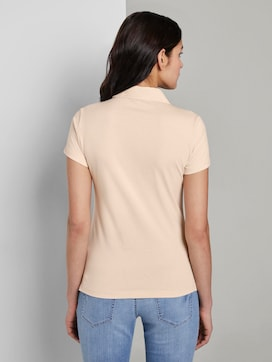 Basic Poloshirt mit Brusttasche - 2 - TOM TAILOR