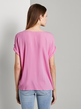 Blusenshirt mit Turn-Ups - 2 - TOM TAILOR Denim