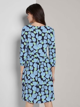 Dress with an all-over print - 2 - Tom Tailor E-Shop Kollektion
