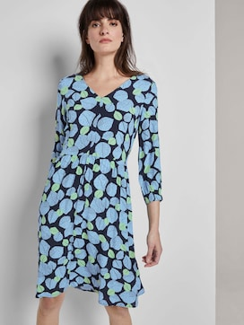 Dress with an all-over print - 5 - Tom Tailor E-Shop Kollektion